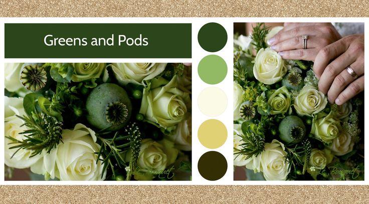 Greens and pods style board Le Bouquet Weddings | Le Bouquet St-Laurent Florist