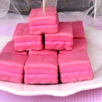 """Pastelitos """"Pantera rosa"""" (*_*)"""