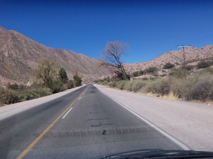 Jujuy, Ruta 9 camino de Jujuy a salta