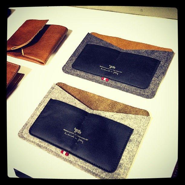 .@konzepp33   New #hardgraft are in @konzepp33 #konzepp #leather #felt #design #accessories...