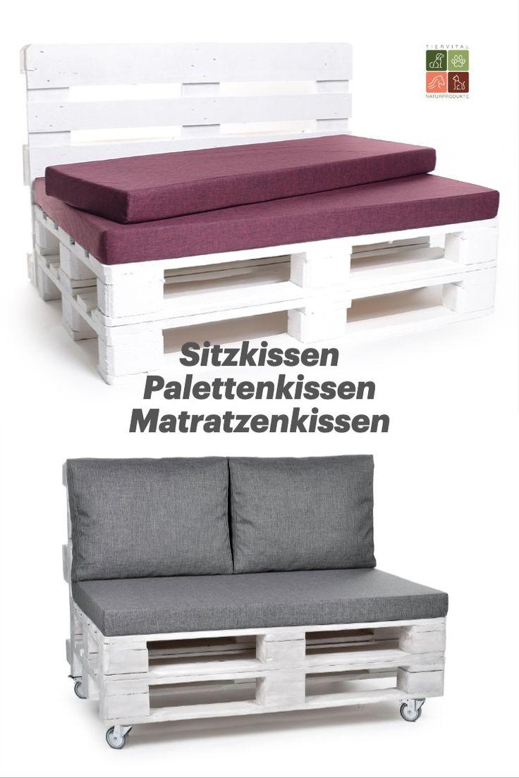 Palettenkissen Matratzenkissen Palettenauflagen Hier Bestellen Paletten Kissen Palettenkissen Palette