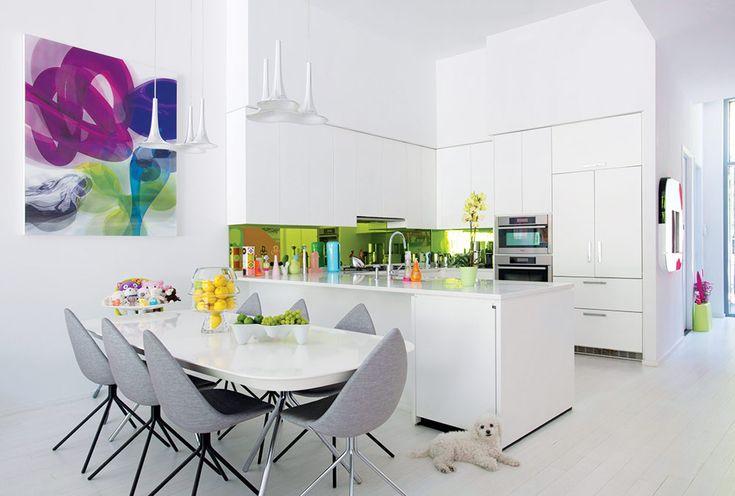 La cocina de Karim Rashid. | Galería de fotos 5 de 8 | AD MX #arquitectura #architecture #design #diseño