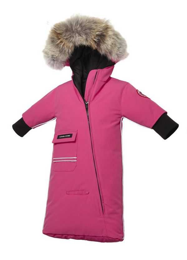 7c14800e2fd6 Canada Goose Snow Bunting Summit Pink Baby s Jackets