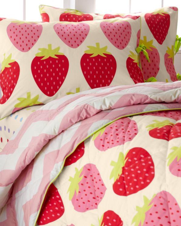 Strawberry Shortcake Bedroom Decor: 17 Best Images About Nursery Textiles On Pinterest