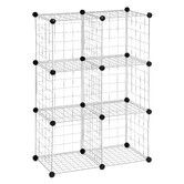 Found it at Temple & Webster - 6 Pack Modular Mesh Storage Cube