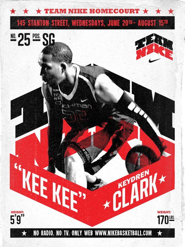 Team Nike Basketball by AJ Dimarucot, via Behance