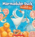 Rollicking rhyme with superb illustrations, this book will become a firm favourite in any household. Then down to the river came a little green frog and a hog from the bog and a dog on a jog, all a-quiver by the river where Marmaduke swam … Marmaduke Duck eating marmalade jam. Wonderful rhyme and hilarious action makes this a truly wonderful read-aloud title-wait till you come across llama farmer Palmer!