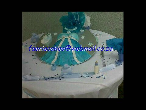 baby shower / 3d pregnant belly cake