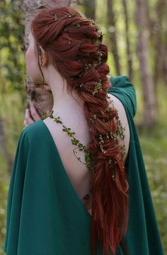 Image result for medieval hairstyles female long hair