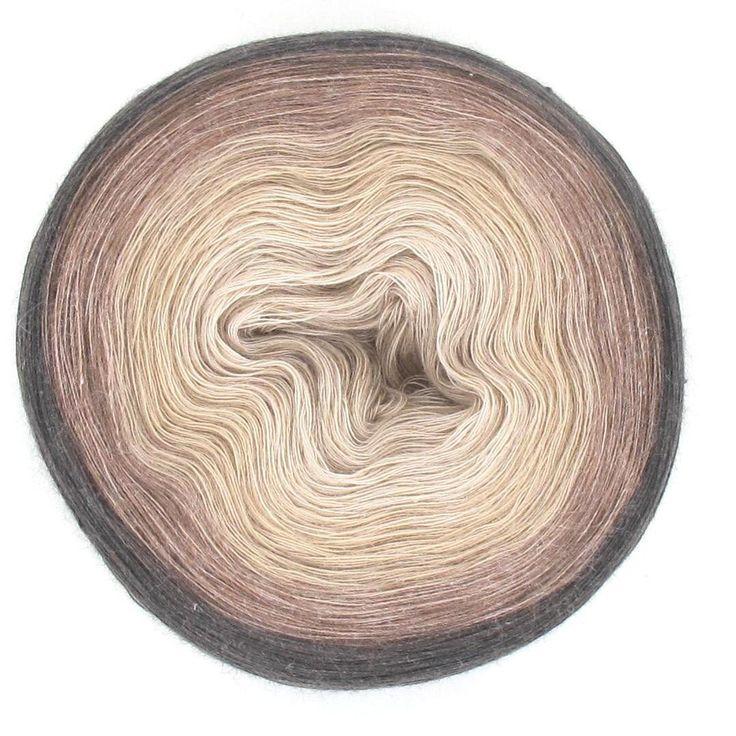 Bali Farbverlaufsgarn 100% Baumwolle: Cappuccino 1