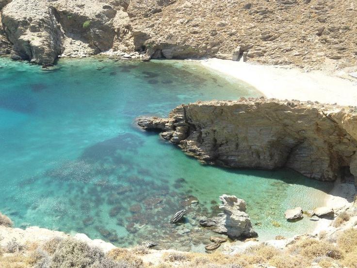 Pyrgos Beach, Andros, Greece