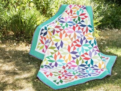 Star light, star bright...we love this kit with all our might! The Amy's Stars Quilt Kit from Robert Kaufman includes a pattern and best-selling Kona Cotton to sew this stylish quilt top. Featuring...