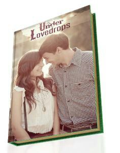 Under Lovedrops. This is what your love story book could look like. Let us write your love story book.