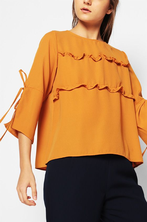 Long Sleeved Clemence | COTTONINK