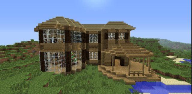 My minecraft house