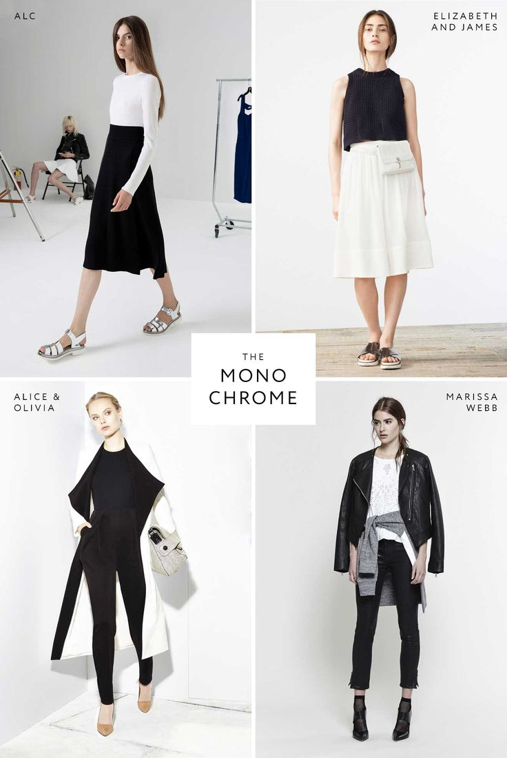 Spring 2015  Love this : the-monochrome