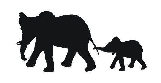 Sticker olifantjes