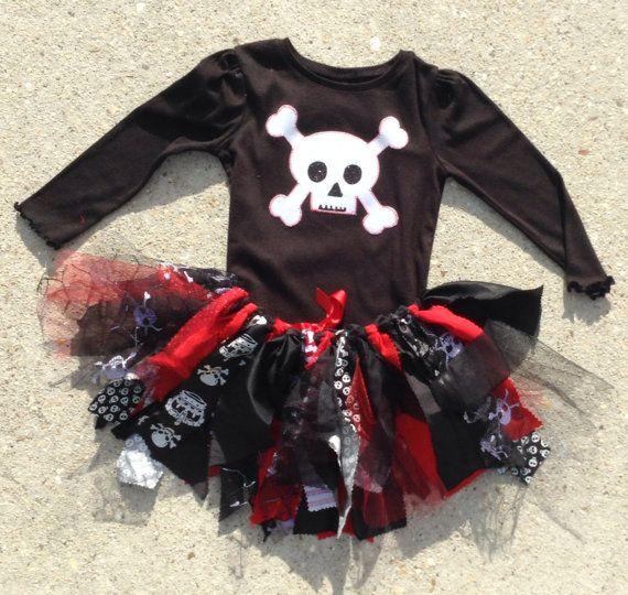 Girl pirate costume Pirate Princess Tutu  cruise por LilNicks