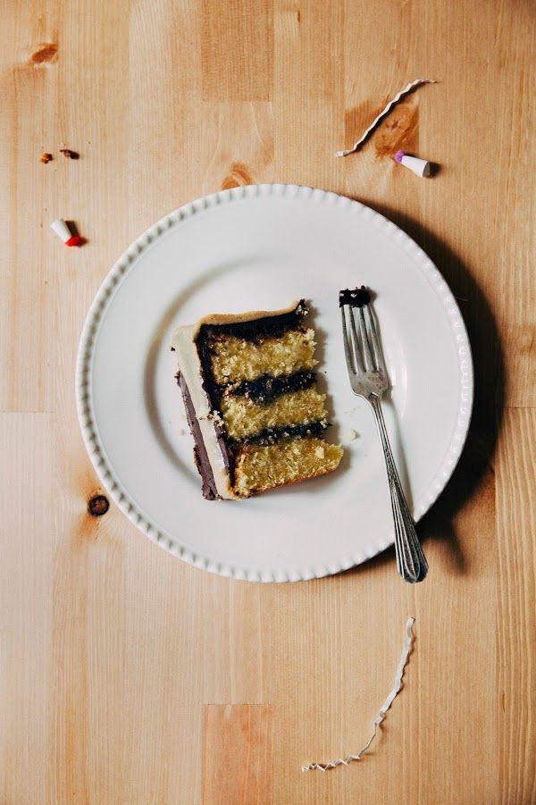 Caramelized White Chocolate Cake