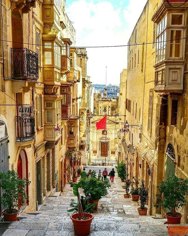 "Valletta, Malta ""The city of Valletta demands that visitors hike to appreciate its heritage and culture. Valletta is a steep grid, so be prepared for hard work to see its finest buildings."" #travelintoliving  Loving your advice @yannistellid. Thank you!"