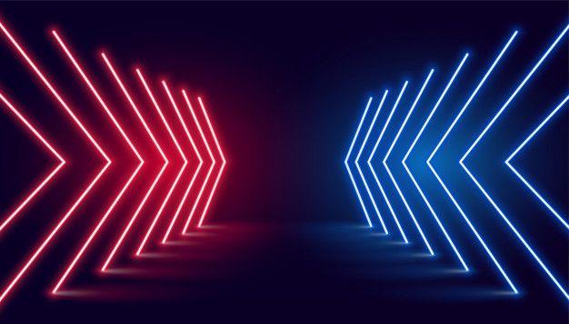 Download Neon Light Arrow Direction In Perspective For Free Neon Lighting Neon Wallpaper Neon