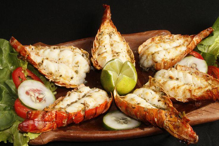 Veja como fazer uma receita de lagosta ao alho, muito saborosa e bem fácil de ser preparada. Essa receita fica divina com um arroz com couve flor.