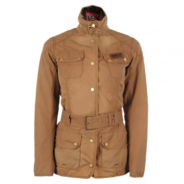 Barbour Womens Brown Vintage International 60z Wax Jacket
