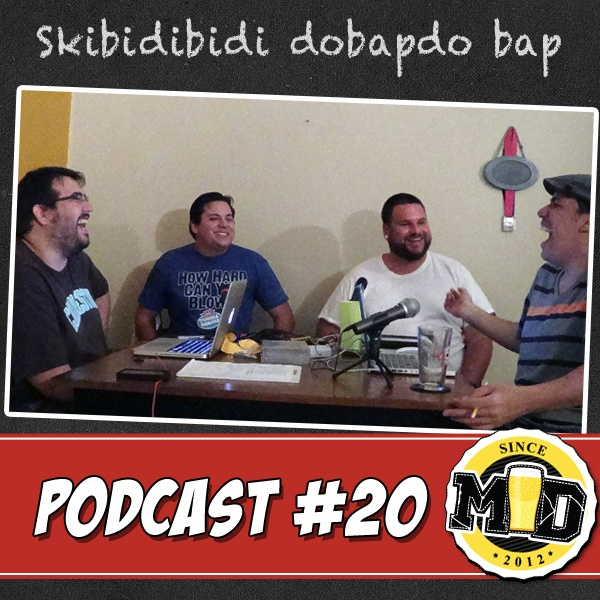 Media Drunks #20: Skibidibidi dobapdobap http://j.mp/16WYsaF (VERSION HD)  Especial del dia: Los Muchachos regresan despues de una semana sin podcast y se creen Scatman! Ademas: Hablan del Iron Man 3 y revelan detalles del futuro de las próximas películas de Marvel, y te reseñan Bioshock Infinite, The Walking Dead Season 3 Finale, Doctor Who, Game of Thrones y April's Fool jokes.