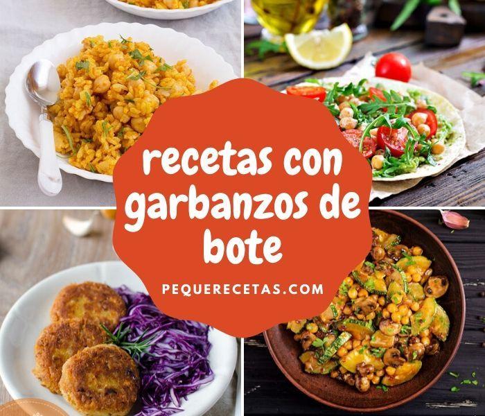 20 Recetas Fáciles Con Garbanzos De Bote Pequerecetas En 2020 Garbanzos Recetas Garbanzos Recetas Vegetarianas Saludables