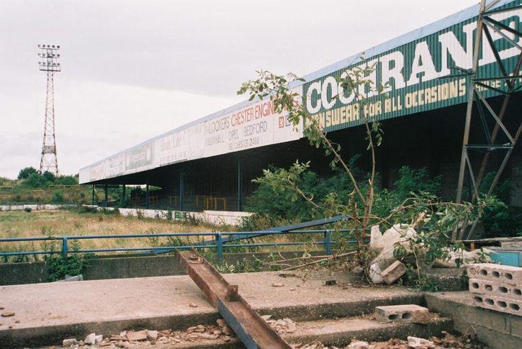 Sealand Road former home of Chester City FC via Twitter / groundhopper23