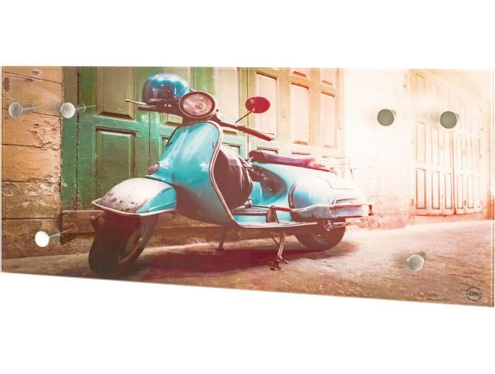 Haku Garderobe Vintage Painting Motorcycle