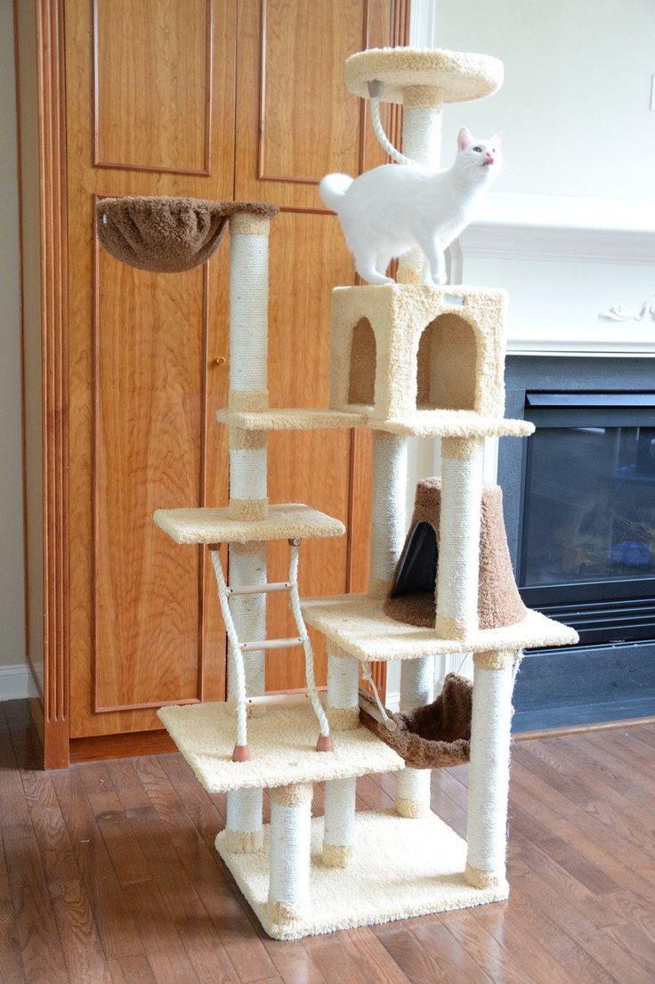 cool cat tree furniture. AMARKAT DESIGNER CAT TREE W/ KITTY HAMMOCK \u2013 FREE SHIPPING AND TAX INCLUDED On All Cool Cat Tree Furniture F