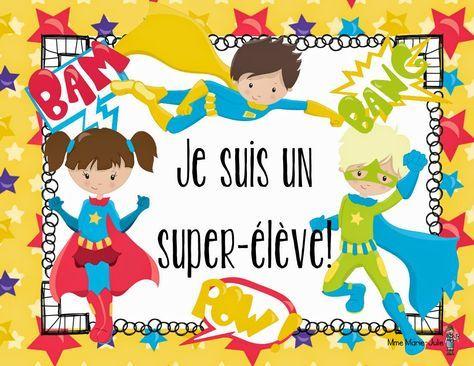 Mme Marie-Julie : Les Super-Élèves ou échelle d'autonomie