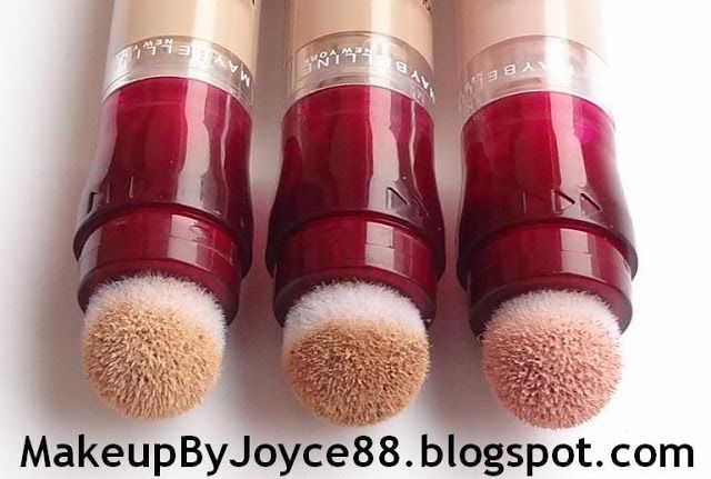 Review Swatches Maybelline Instant Age Rewind Eraser