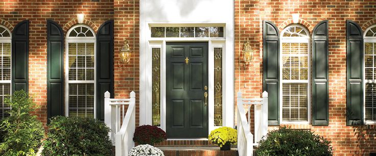 13 best front doors with sidelights images on pinterest for Peachtree fiberglass entry doors