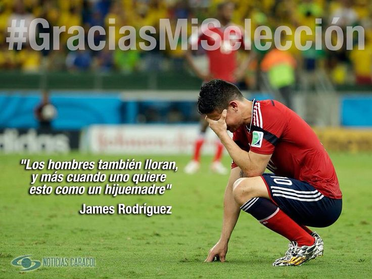 #James #GraciasMiSeleccion