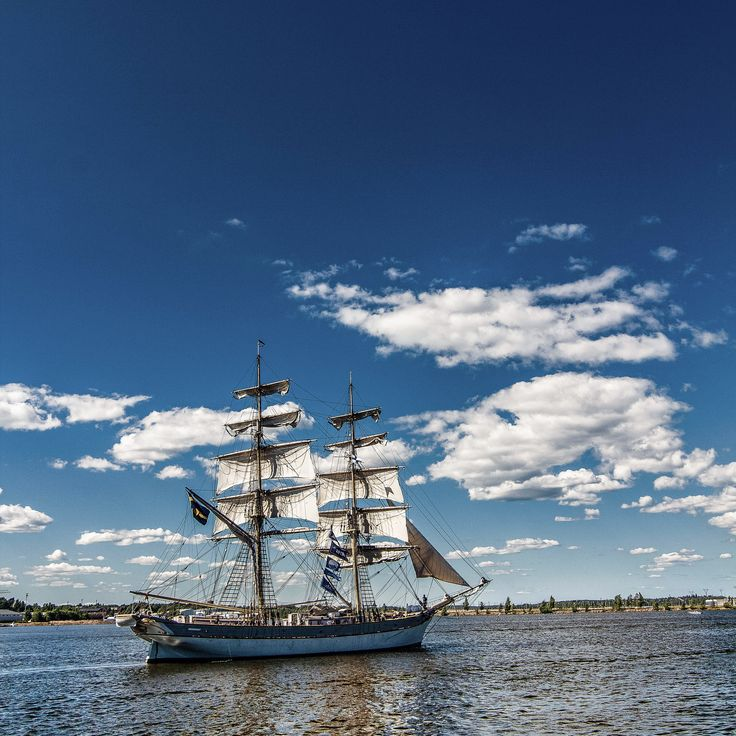 Tall Ship Races 2017 - Tall ship races 2017. Leaving Kotka towards Turku!