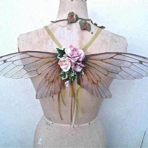 Under the Ivy... delicate treasures for fairy queens! Wings, garlands and accessories