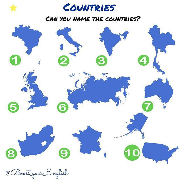 ✅CAN YOU NAME THE COUNTRIES? #boost_travel