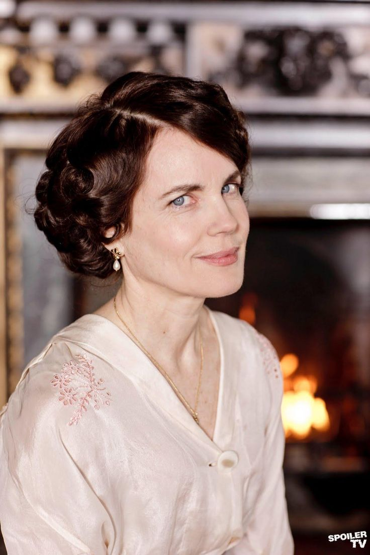 Elizabeth McGovern as Cora Crawley, Countess of Grantham.