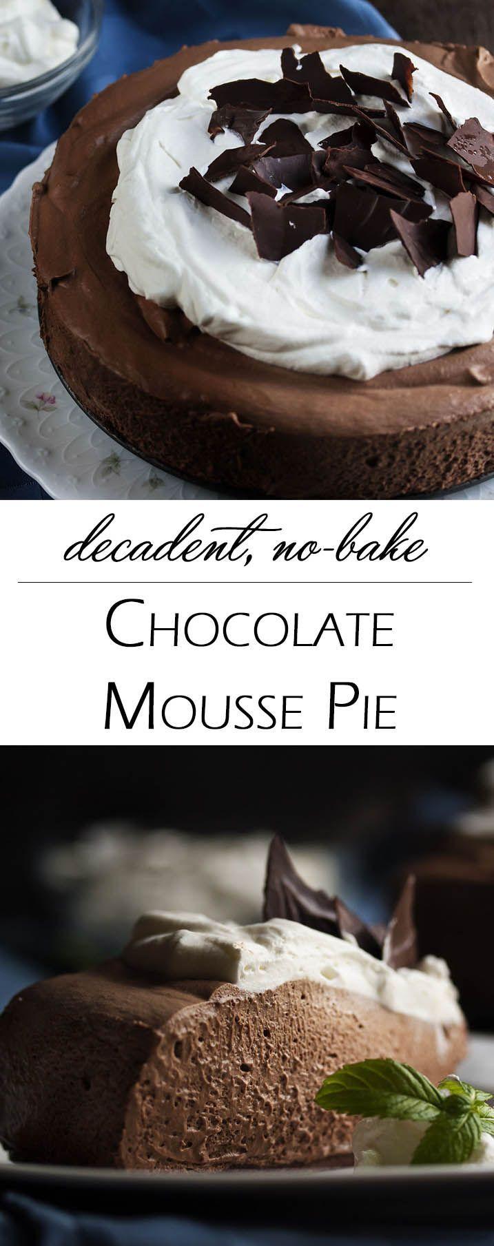 Chocolate Raspberry Mousse Cake By Elizabeth Labau