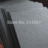 A4 300gsm Черная бумага картон Бланк DIY Бумаги, Картона Лазерный Принтер Ручной Сделать Проект Картона Оптом