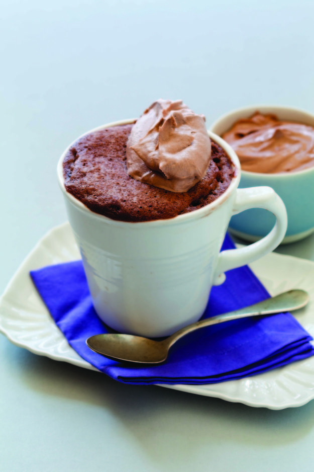 Hazelnut-Nutella Mug Cake   How To Microwave Mug Cakes That Actually Taste Good