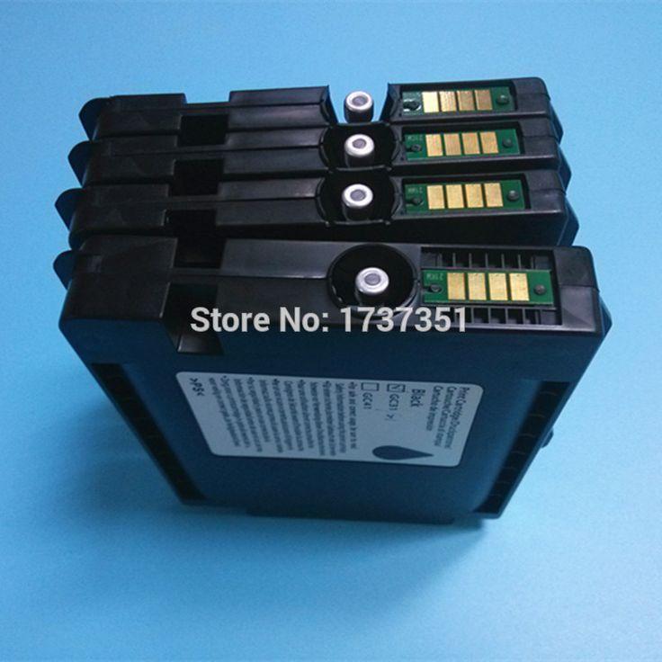 Empty compatible ink cartridge for Ricoh e2600 e3300 e3300n e3350n e5050n e5500 e5550n e7700 gx7500 for Ricoh GC 31  #Affiliate