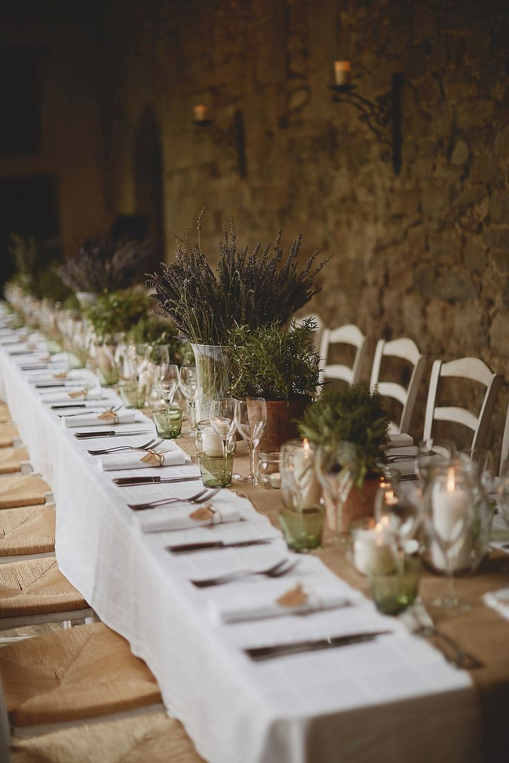 A Jonathan Simkhai Dress for a Chic and Rustic Wedding in the French Countryside