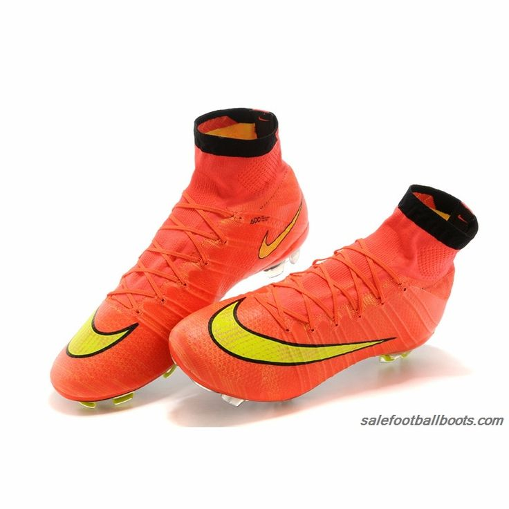 Nike Mercurial Superfly FG Orange Yellow $103.99