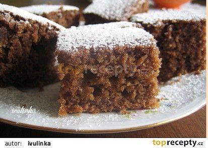 Cuketový perník recept - TopRecepty.cz
