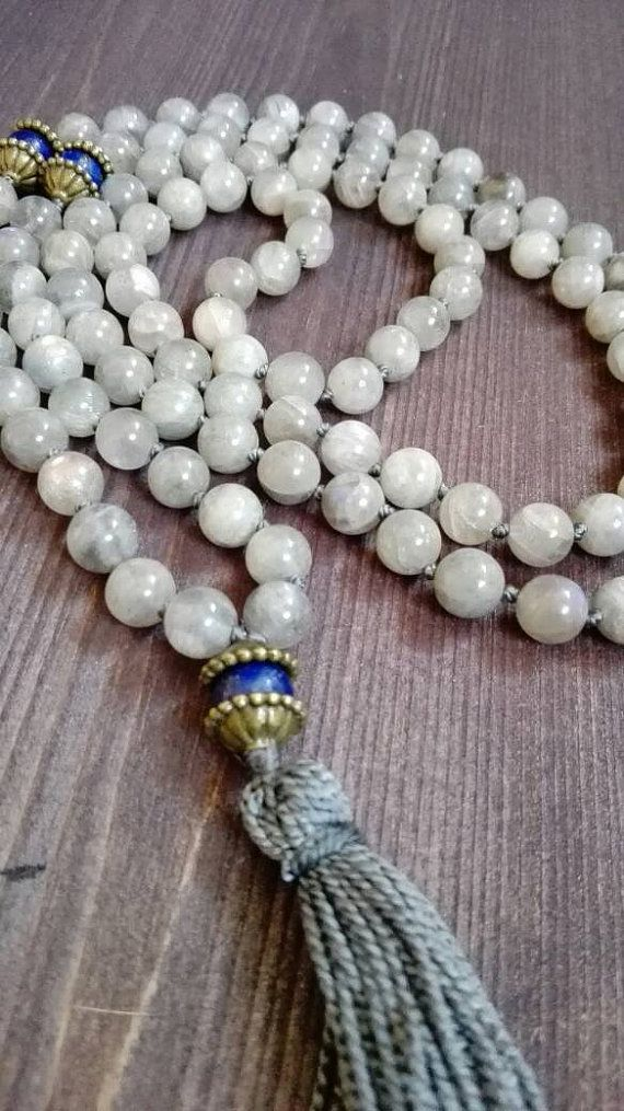 Check out this item in my Etsy shop https://www.etsy.com/listing/249226493/labradorite-mala-made-of-108-natural