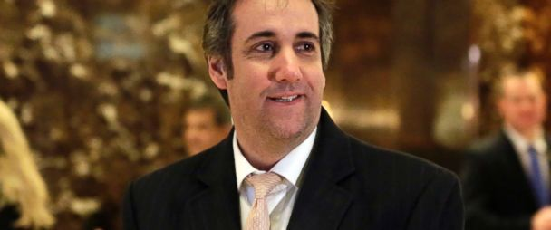 PHOTO: Michael Cohen, an attorney for Donald Trump, arrives in Trump Tower in New York City, Dec. 16, 2016.