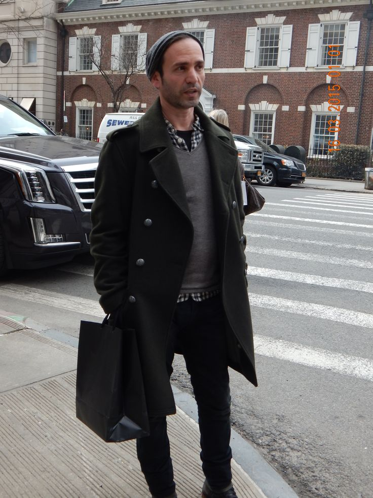 A fashion designer from Israel on Madison Avenue. I took ...